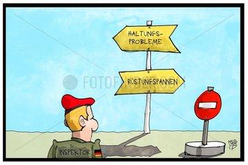 Inspektion bei der Bundeswehr