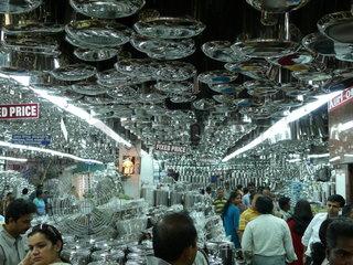 Topfladen in Chennai