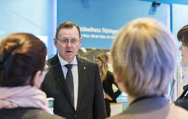 Bodo Ramelow besucht die Tourismusmesse ITB