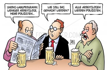 Unions-Wahlprogramm