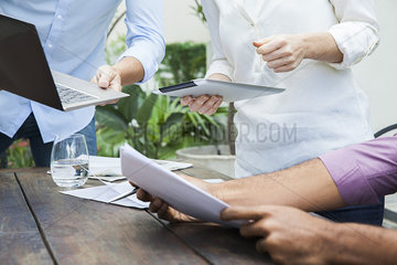 Laptop computers and digital tablets are valued tools in the business workplace
