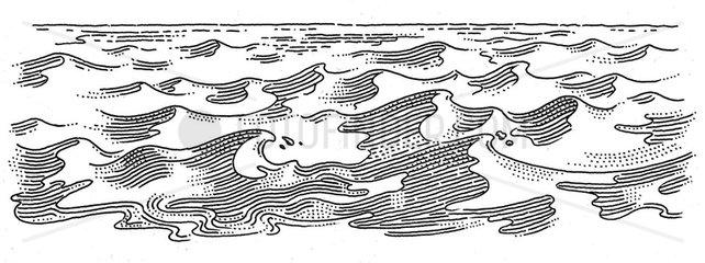 Serie Wasserwellen 2