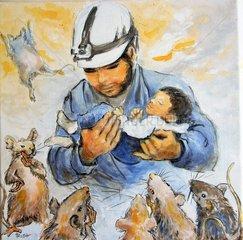 Helden und Opfer von Aleppo Nr. 2