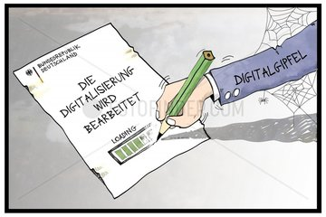 Die Digitalisierung wird bearbeitet