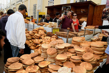TUNISIA-TUNIS-RAMADHAN-SHOPPING