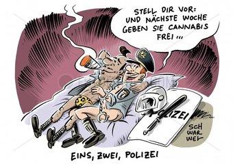 Ehe fuer alle - Berliner Partypolizisten - Legalisierung Cannabis