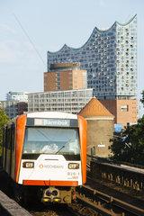 Die Hochbahn U3 der HVV
