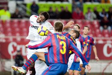Sevilla  Spanien  Spiel des Sevilla FC gegen den FC Barcelona um den Copa del Rey