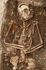 Fruehzeitlicher Skelettfund auf der Insel Cres
