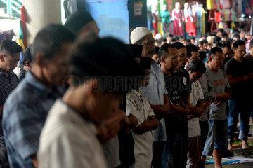 INDONESIA-JAKARTA-RAMADAN-FIRST FRIDAY NOON-PRAYER