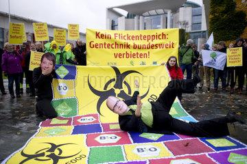 Protest Gentechnik-Gesetz