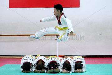 CHINA-BEIJING-CHILDREN-CLASS (CN)