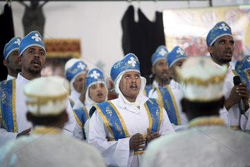 Gottesdienst eritreische Gemeinde