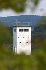 Wiesenfeld  Deutschland  Fuehrungsturm der damailgen NVA-Grenztruppen