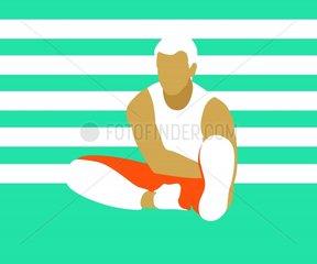 Stretching Figur 05