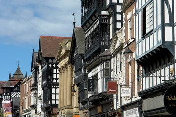 Altstadt Chester  Grossbritannien