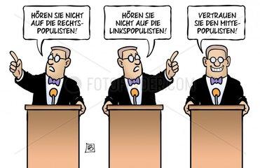 Bertelsmann-Populismus-Studie
