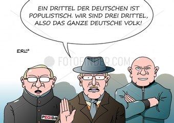 Populistische Deutsche