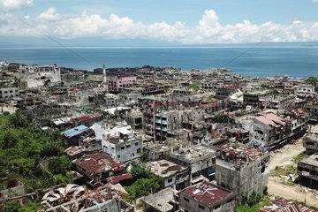 THE PHILIPPINES-MARAWI CITY-REHABILITATION-GROUND ZERO