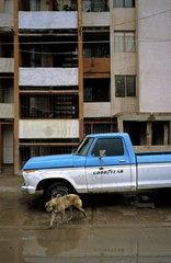 Arbeiterviertel in der mexikanischen Stadt Fresnillo