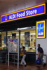 Aldi Supermarkt in Melbourne  Australien