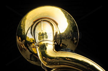 Schalltrichter einer Tuba
