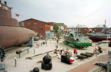 Wilhelmshaven  Freigelaende Deutsches Marinemuseum