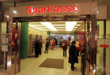 Sparkasse in den Potsdamer Platz Arkaden
