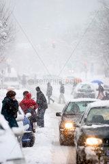 Winterlicher Verkehr