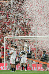 Madrid  Sieg des Sevilla FC im Santiago Bernabeu-Stadion