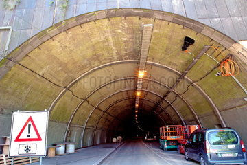 Sanierung des Kiesbergtunnel in Wuppertal