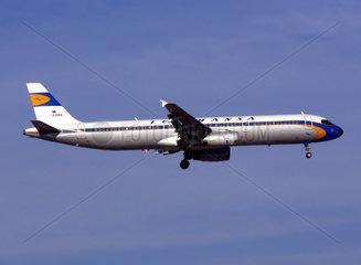 Lufthansa Airbus A321 in Retro Lackierung