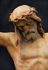 Kruzifixus  Kreuz in Kesseling  Eifel  RLP  D