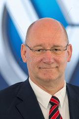 Polen  Jens Ocksen  Vorstandsvorsitzenden von Volkswagen Poznan Sp.z.o.o.