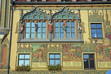 Aussenaufnahme des Ulmer Rathauses