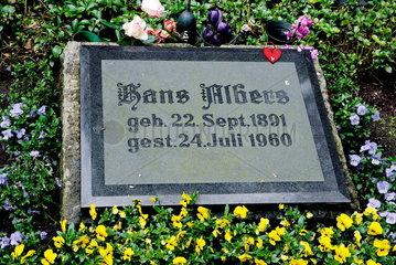Hans Albers Grab in Hamburg Ohlsdorf