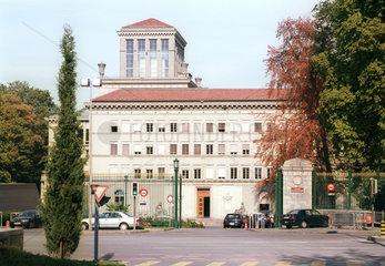 Hauptsitz der Welthandelsorganisation (WTO) in Genf