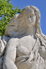 Loreley-Statue in Sankt Goarshausen