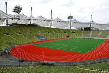 Innenraum Olympiastadion Muenchen