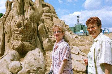 Sandskulpturenfestival 2004 in Berlin