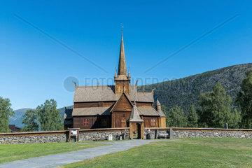 Stabkirche Lom  Stave Church Lom