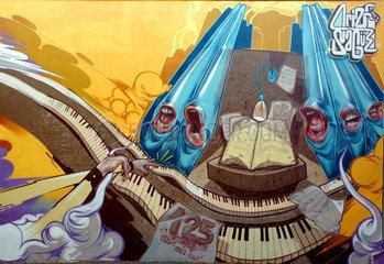 125 Jahre Orgelbau Klais  Graffitikunst