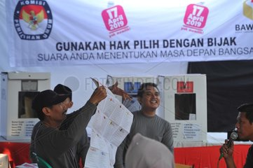 INDONESIA-JAKARTA-PRESIDENTIAL ELECTION-VOTE