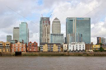 Bankenviertel Canary Wharf London