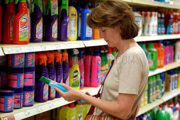 Preisvergleich im Supermarkt