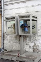 Moskau  Telefonzellen