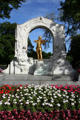 Wien  Denkmal Johann Strauss