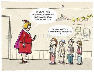 Weihnachtsmann Gender