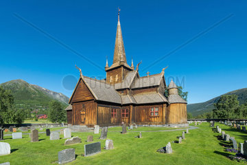 Stabkirche Lom  Stave Church Lom