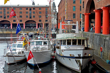 Liverpool Waterfront: Albert Dock